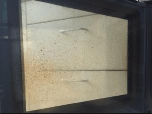 Beskidt ovnglas