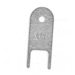 Katrin nøgle, til dispensere i børstet stål