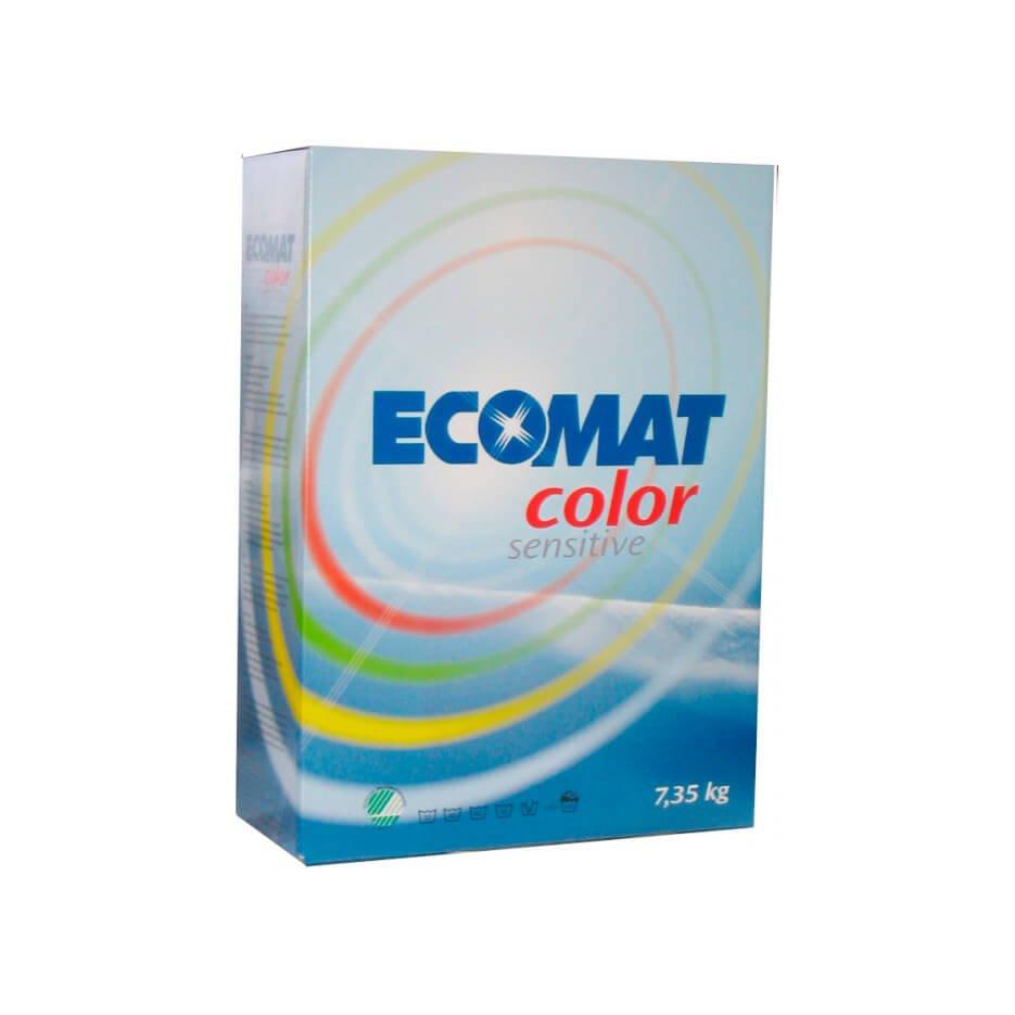 Ecomat Color Senitive Vaskepulver, 7,35 kg