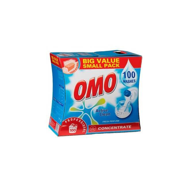 OMO Professional Active Clean, flydende vaskemiddel, 7.5 L