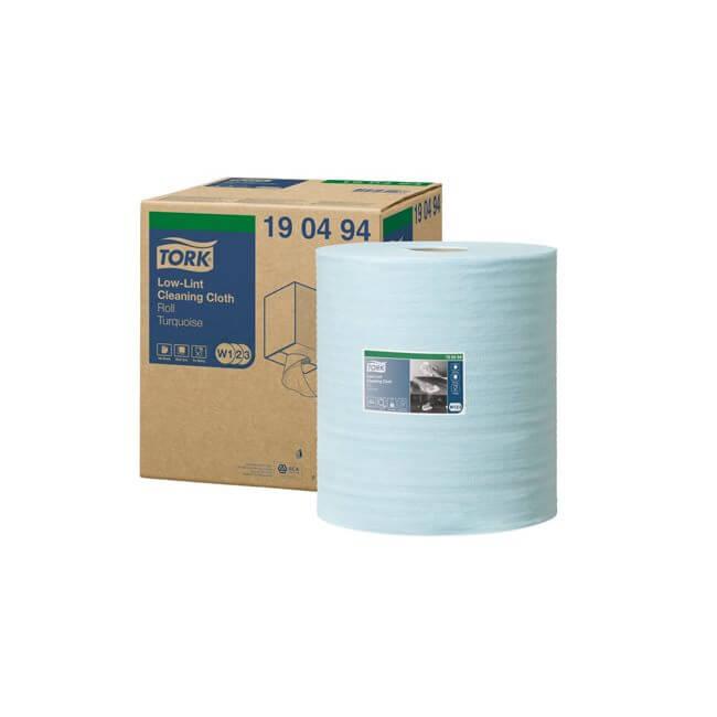 Tork aftørringsrulle industri W1/W2 sensitiv, 180m