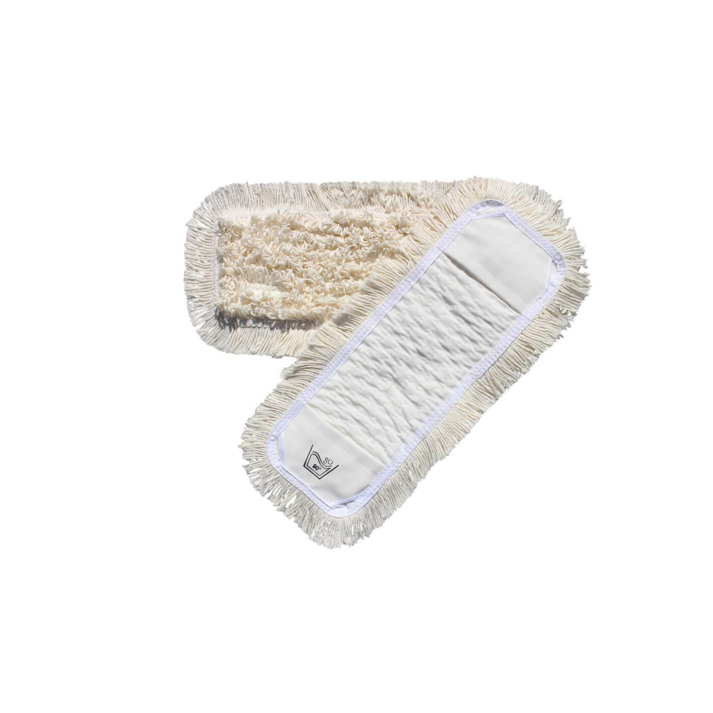 Drypmop/garnmop, med lommer og lukkede kantløkker, til 40 cm. fremfører