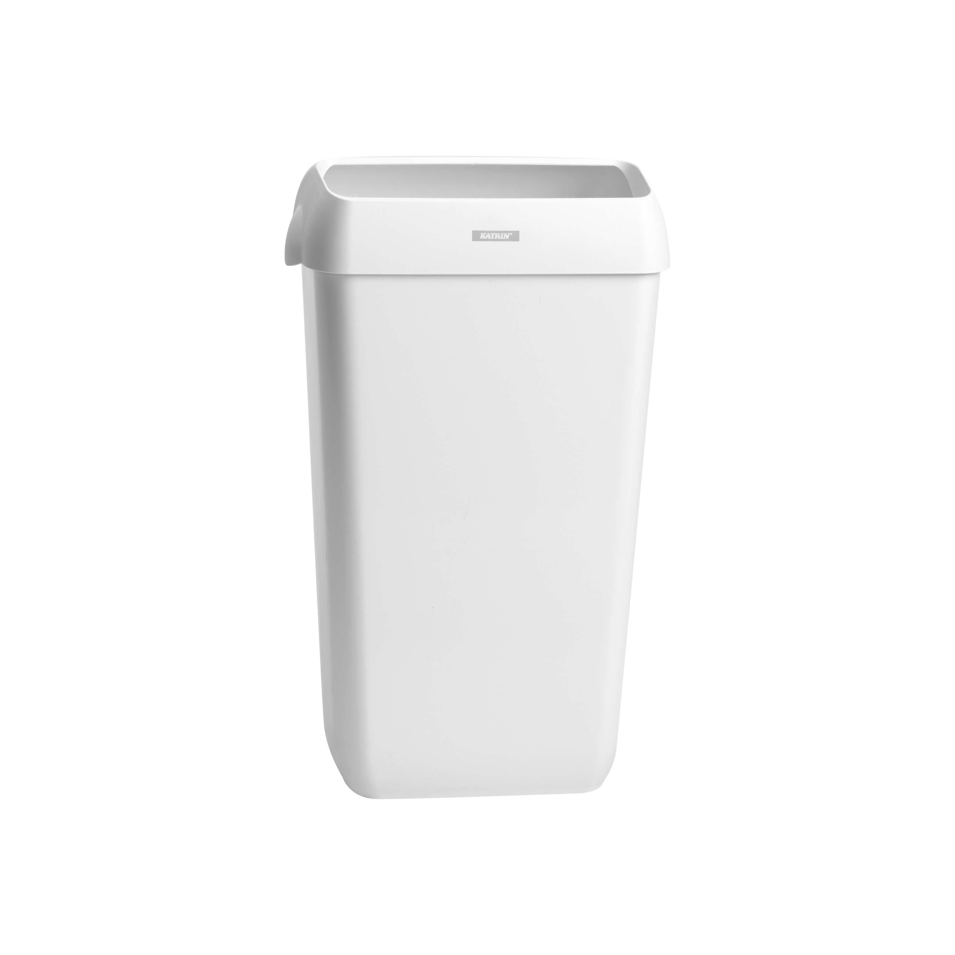 Katrin Waste Bin, papirkurv med låg, hvid, 50 L