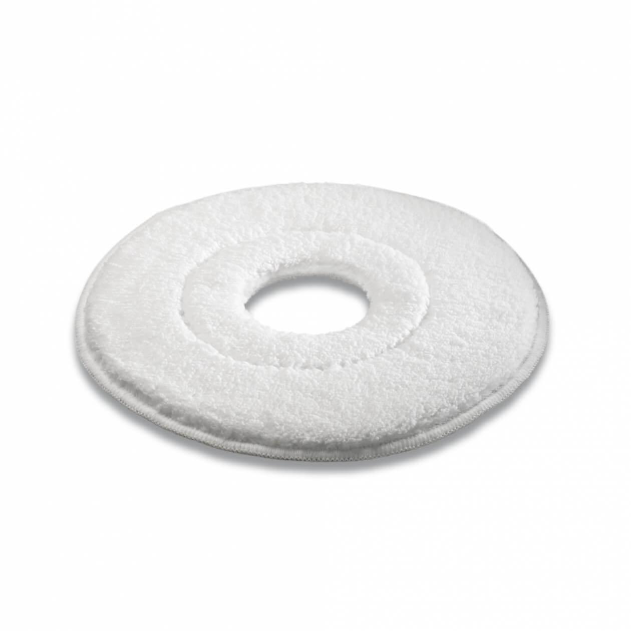 Kärcher, mikrofiber pads, hvid, 533 mm, 5 stk.