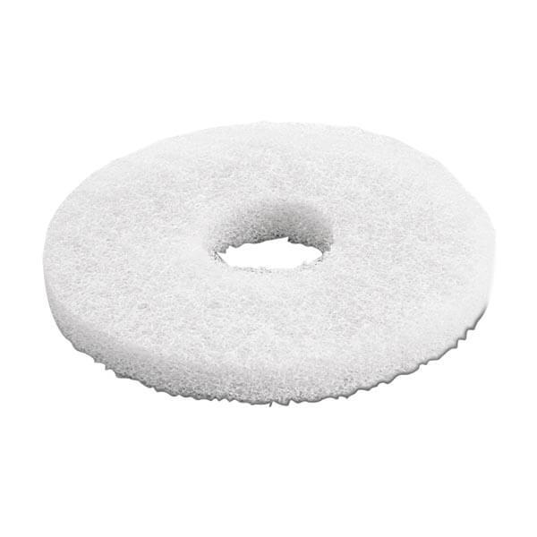 Kärcher, pads, meget blød, hvid, 170 mm, 5 stk.