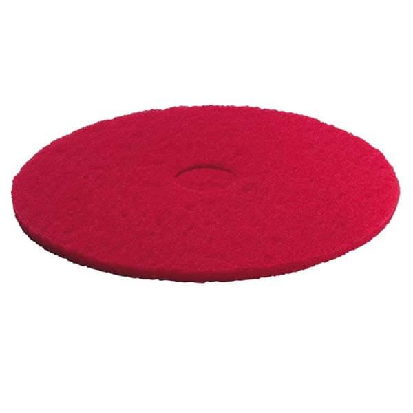 Kärcher, pads, mellemblød, rød, 170 mm, 5 stk.