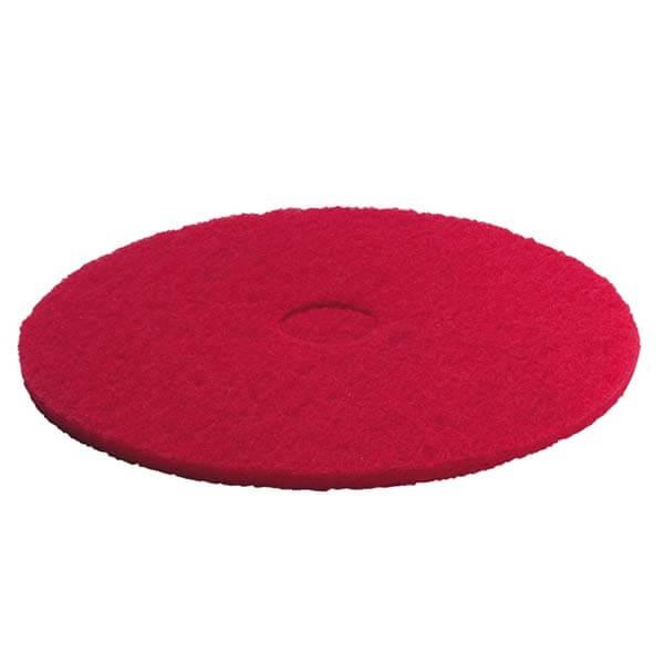 Kärcher, pads, mellemblød, rød, 457 mm, 5 stk.
