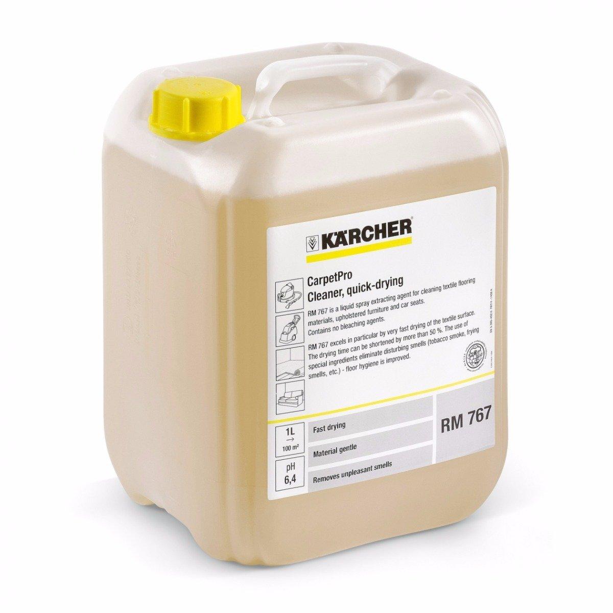 Image of   Kärcher CarpetPro RM 767, hurtigtørrende tekstilrens, 10 L