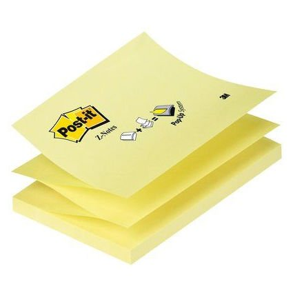 Post-it og memoblokke